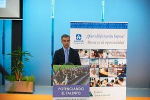 José del Campo, Jéfe de Electrólisis de Alcoa Avilés (apertura jornada)