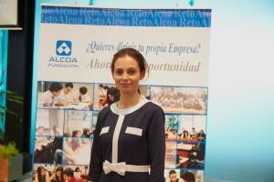 Lorena Suarez, ponente de Alcoa (2)