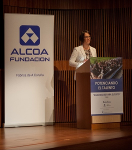 Lorena Pisani, Coordinadora Comunidad Alcoa A Coruña 2
